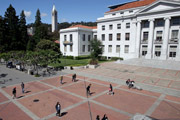 Sproul Plaza at UC Berkeley